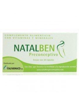 Natalben Preconceptivo 30 cápsulas