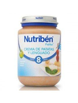 Nutriben Junior Crema de Patatas Con Lenguado 200g.