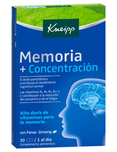Kneipp Memoria y Concentración 30...