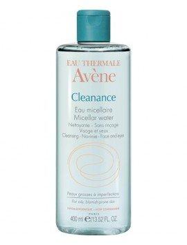 Avène Cleanance Agua Micelar Limpiadora 400ml.