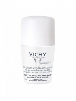 Vichy desodorante roll-on piel sensible 50 ml