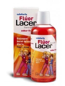 Lacer Flúor Colutorio Diario 0.05% Fresa 500ml