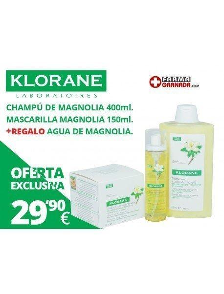 Klorane Magnolia Pack Cuidado Intensivo