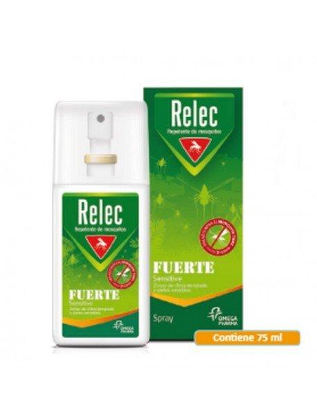 Relec Fuerte Sensitive Spray Repelente de Mosquitos 75ml.
