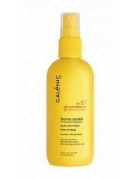 Galénic Soins Soleil Spray Antiedad SPF50+ Facial 125ml.