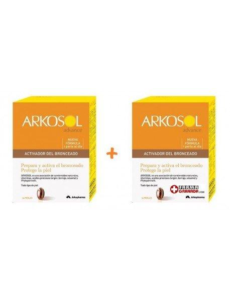 Arkosol Advance Activador Bronceado Duplo 30 +30 Perlas