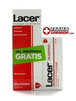 Lacer Pack Colutorio 500ml. + Gel Dentífrico 35ml.