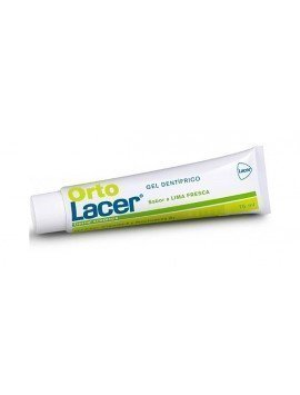 Lacer Ortolacer Gel Dentífrico 75ml. Sabor Lima Fresca