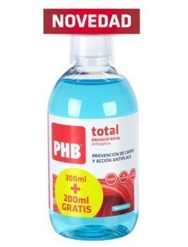 PHB Total Enjuague Bucal Antiséptico 500ml.