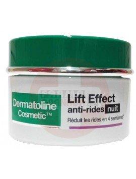 Dermatoline Cosmetic Lift Effect Crema Anti Arrugas Noche 50ml.
