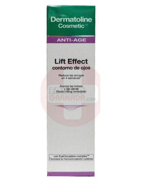 Dermatoline Cosmetic Lift Effect Contorno Ojos Anti Arrugas 15ml.