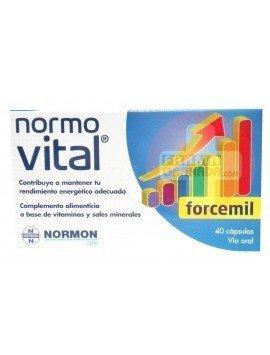 Normovital Forcemil 40 cápsulas