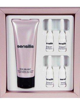Sensilis Skin Delight Mascarilla 75ml. + 4 Viales 2ml.