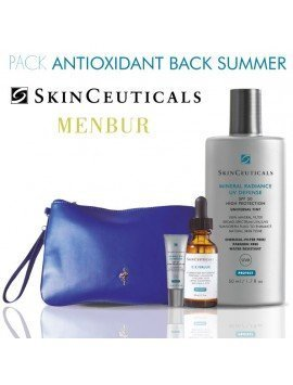 "Pack Skinceuticals & MENBUR ""Antioxidant Back Summer"""