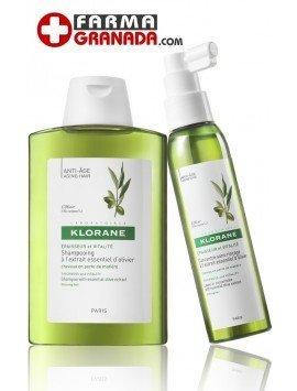 Klorane Pack Recuperación Capilar Olivo