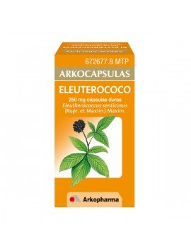 Arkocapsulas Eleuterococo 48 Cápsulas