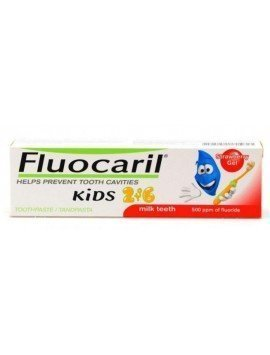 Fluocaril Kids Bubble Fresa Gel 50ml.