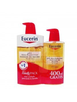 Eucerin Pack pH5 Oleogel 1000ml. + 400ml.