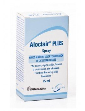 Aloclair Plus Spray 15ml.