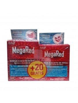 Megared 60 Cápsulas + 20 Cápsulas de REGALO