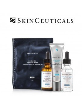 Skinceuticals Pack Sérum 10 + Hydrating B5 + Ultra Facial Defense + Mascarilla Biocelulosa