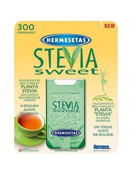 Hermesetas Stevia Edulcorante 300 Comprimidos