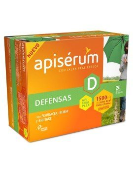 Apiserum Defensas 20 Ampollas