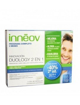 Inneov Duology 2 en 1 Pack 30+30 Cápsulas