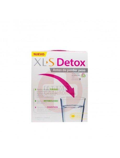 XLS Detox Antes de Perder Peso 8 Sobres