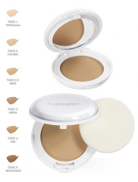 Maquillaje dermatológico avène