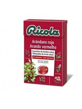 Ricola Caramelos Arándano rojo 50g
