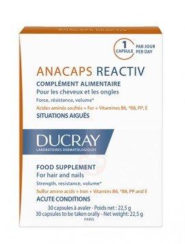 Ducray Anacaps Tri-Activ 30 cápsulas