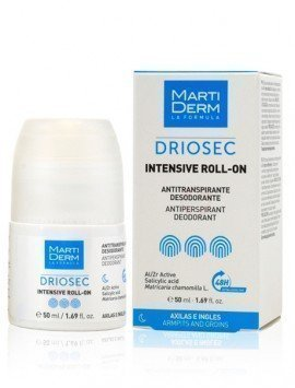 MartiDerm Driosec Roll On Axilas e Ingles 50ml