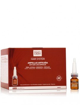 MartiDerm Hair System 3GF Ampollas Anti Caída