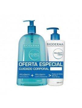 Bioderma Pack Atoderm Gel Ducha 1L + Atoderm Crema 500ml.