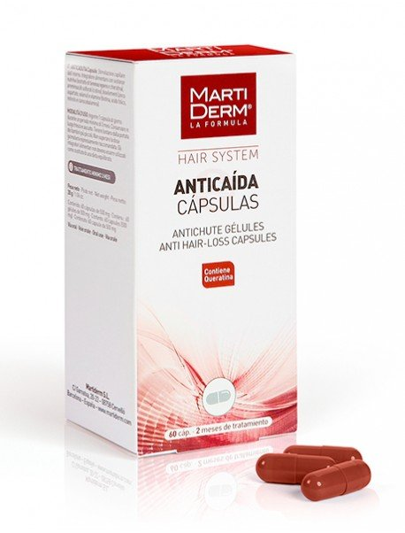 MartiDerm Hair System Tratamiento Anti Caída 60 Cápsulas