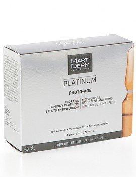 MartiDerm Platinum Photo Age 10 Ampollas