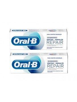 Oral B DUPLO Encías&Esmalte Blanqueante 125ml + 125ml