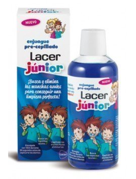 Lacer Enjuague Pre-Cepillado Junior 500ml