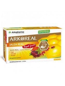 Arkoreal Jalea Real + Royal Fruits 20 Ampollas