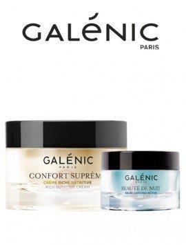 Galénic Pack Confort Supreme Crema 50ml + Beaute de Nuit 15ml