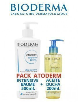 Bioderma Pack Atoderm Intensive Baume 500ml. + Atoderm Aceite Ducha 200ml.