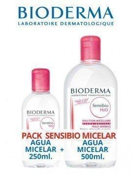 Bioderma Pack Micelar Sensibio H2O 500ml. + 250ml GRATIS