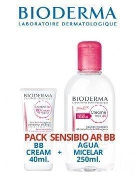 Bioderma Pack Sensibio AR BB Cream SPF30 40ml. + H2O Sensibio AR 250ml.