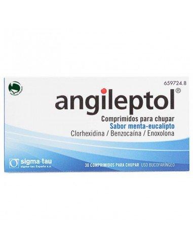 Angileptol 30 Comprimidos Para Chupar...