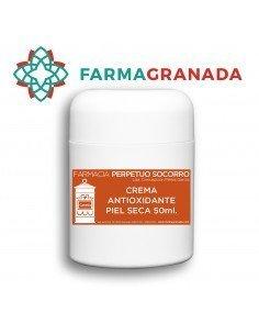 Crema Antioxidante Piel Seca FPS 50ml