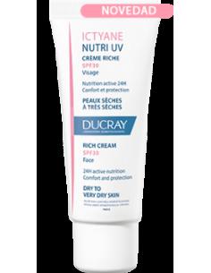 Ducray Ictyane Nutri UV Crema 40ml