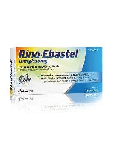 Rino-Ebastel 10mg/20mg 7 Cápsulas