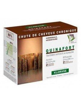 Klorane Tratamiento Anti-Caída 12 Ampollas 5ml.