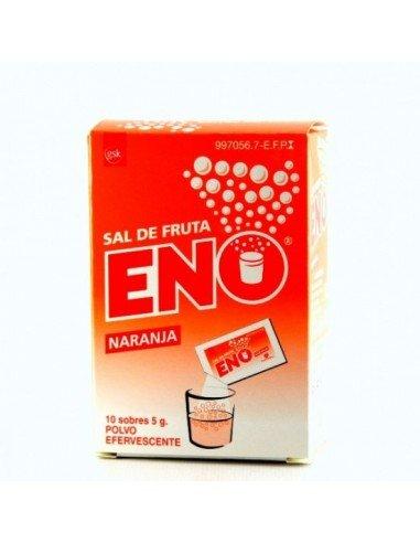 Sal de Fruta Eno Naranja 10 Sobres 5g